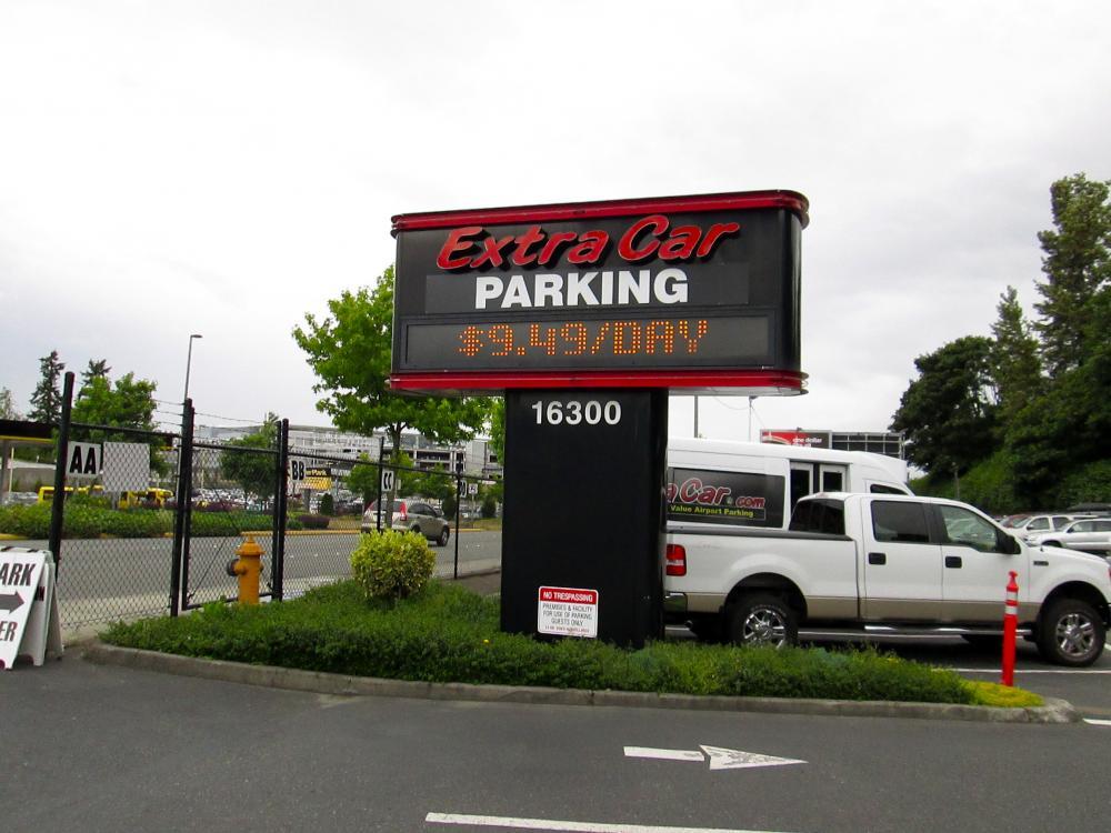 Extra Car Airport Parking: Extra Car Parking At Seattle Seattle SeaTac (SEA) Airport, SEA