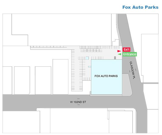 FOX Auto Parks Parking At Los Angeles Los Angeles