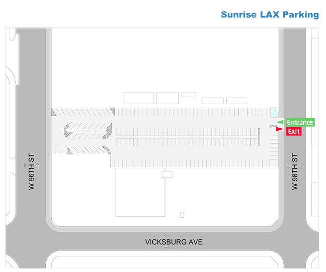 Sunrise LAX Parking Plan